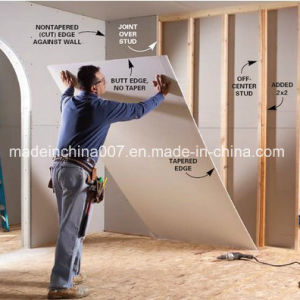 High Quality Gypsum board 9/12mm China Manufacturer pictures & photos