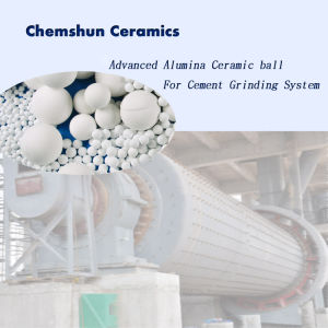 95% Al2O3 Ceramic Grinding Media for Mining Industrial Ball Mill pictures & photos