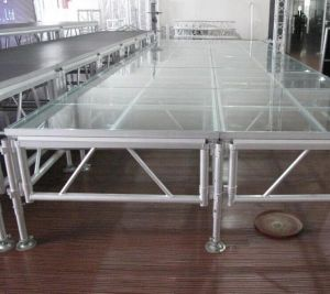 Meile Manufacture Perfessional Portable Stage Mobile Stage for Sale pictures & photos