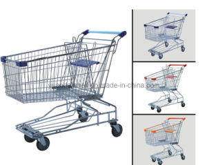 Supermarket Cart Shopping Trolley 125L (YDT01-03) pictures & photos