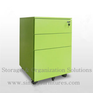 Mobile Pedestal Filing Cabinet (slim model) (T1-MP03) pictures & photos