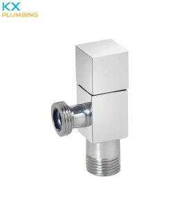 Square Angle Valve Chrome Plated (KX-AV006) pictures & photos