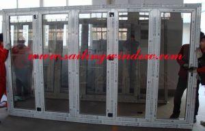 Aluminium Door - Nonthermal Break Sliding Folding Door pictures & photos