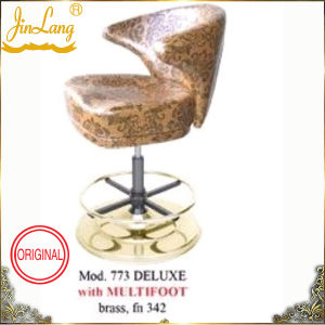 Bar Chair Mod. 773 With Multifoot Brass, Fn342