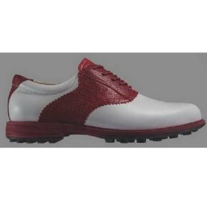 China Brand Cow Leather Golf Shoe Male pictures & photos