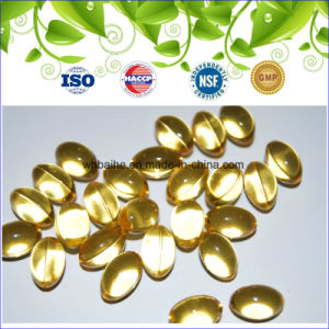 GMP Certified & High Quality Natural Vitamin E 400iu Softgel pictures & photos
