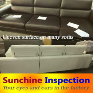 Sofa Quality Control and Inspection Services / During Production Inspection / Pre-Shipment Inspection / Container Loading Supervision pictures & photos