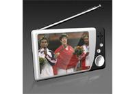 Analong TV/MP4/MP5 Player (PRA-2816A-WHITE-BLACK)