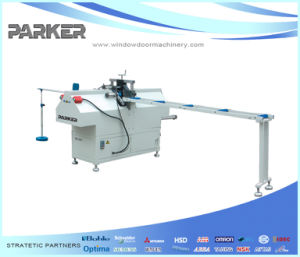 UPVC Window Cutting Machine PVC Profile Mullion Cutting Saw pictures & photos