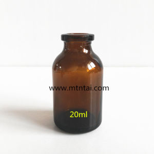 20ml Amber Color Moulded Glass Vials pictures & photos