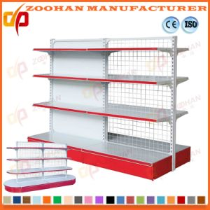 Metal Wall Gondola Shelving Supermarket Display Shelves (Zhs375) pictures & photos