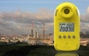 Chargeable Battery Operated Gas Detector 10000ppm pictures & photos