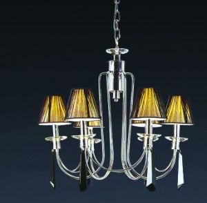 Modern Chandelier with Coffee Shade (H-3009/6) pictures & photos