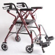 Aluminum Rollators Double Types pictures & photos