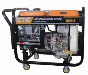 Diesel Silent Generator with CE and ISO9001 (DG6LN/4LN) pictures & photos