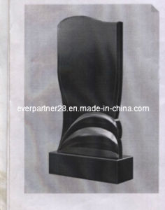 Granite Tombstone, Granite Monument, Shanxi Black Monument pictures & photos