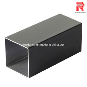 Aluminum/Aluminum Extruded Black Anodized Profiles for Window and Door pictures & photos