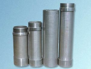 V Wire Screen Tube pictures & photos