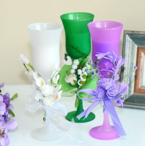Creative Wedding & Party Glass Candle Holders