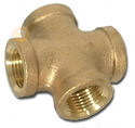 Brass Fitting Crosses Compression Connector (KX-BV008) pictures & photos