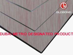 GLOBOND Grainy Finish - Aluminum Composite Panels (PF-7126) pictures & photos