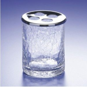 Crystal Toothbrush Cup F-011