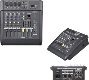 Hot -Sale Professional Power Mixer 4 Channels 150wx2 Mx-402D pictures & photos