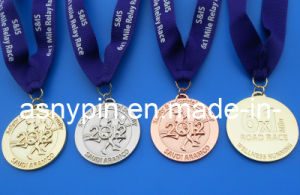 Custom Metal Sports Award Medals in Gold/Silver/Bronze (ASNY-MM-TM-074) pictures & photos