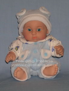 "9"" Full Vinyl Fat Baby Doll (C589B)"