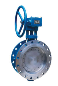 Metallic Seal Flanged Butterfly Valve pictures & photos