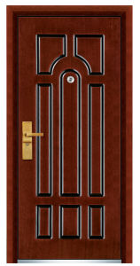China Classic Armored Steel MDF Exterior Door pictures & photos