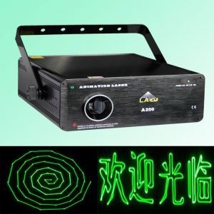 200mw Green Cartoon Laser Light for DJ (A200)
