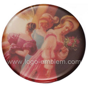 Custom Round Metal Lapel Pin pictures & photos