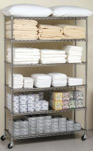 6 Layers Storage Wire Shelving pictures & photos