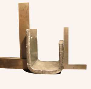 Steel Q345 U-Shaped Bracket for Lifting Equipment Galvanized