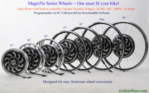 Bike Conversion Kit (Magic Pie 2 Kit) pictures & photos