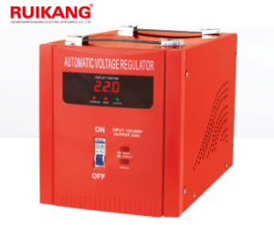 1kw LCD Screen Low Price Supply Automatic Voltage Stabilizer for Home Appliance pictures & photos