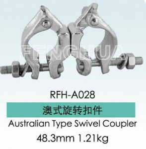 Australian Type Swivel Coupler (RHF-A028) pictures & photos