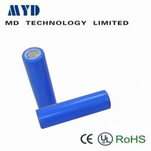 18650 Cylindrical Rechargeable Battery with 3.7V