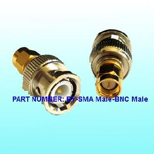 RF Adaptor Connector (BY-SMA Male to BNC Male) pictures & photos