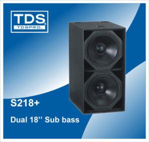 Subwoofer Speaker S218+ pictures & photos