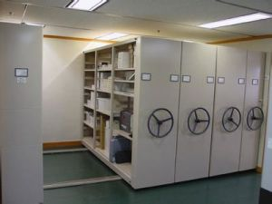 Steel Mobile Mass Shelf /File Cabinet pictures & photos