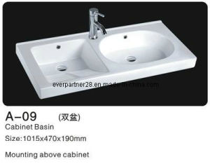 Bathroom Ceramic Basins, Ceramic Cabinet Wash Basin pictures & photos