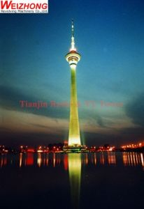 Radio & TV Tower with Revolving Restaurant Platform pictures & photos