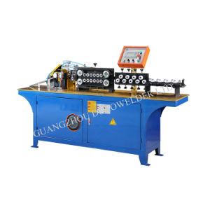 Automatic Aluminum Tube Straightening and Cutting Machine pictures & photos