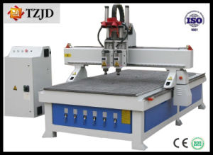Multi-Head CNC Router for Woodworking Advertising Stone Aluminum pictures & photos