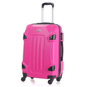 ABS Trolley Luggage with 360 Degrees Rotating Wheels pictures & photos