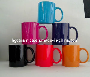 11oz Mug with Color Coating. Color Coating Ceramic Mug pictures & photos