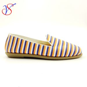 Three Color Soft Comfortable Flax Lady Women Shoes Sv-FT 001 pictures & photos