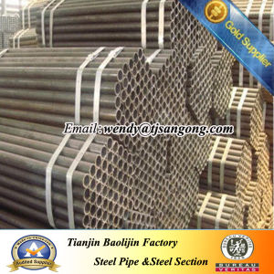 DIN St37 St44 St52 Carbon Steel Pipe pictures & photos